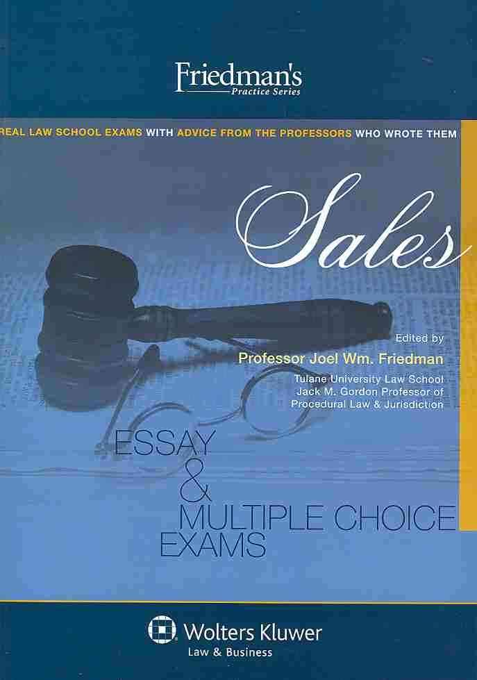 Sales By Friedman, Joel Wm (EDT)
